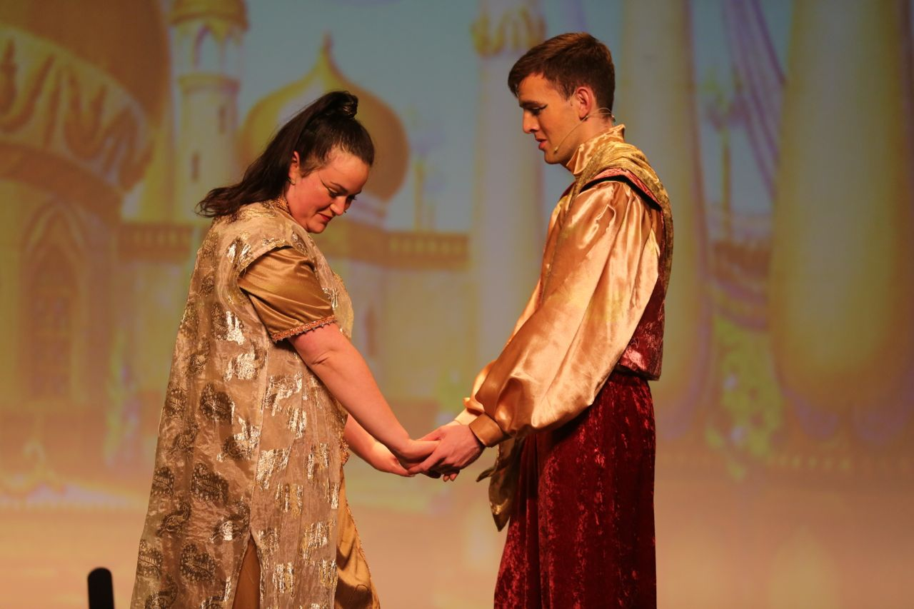 Aladdin 2015   Abbey Arts Centre