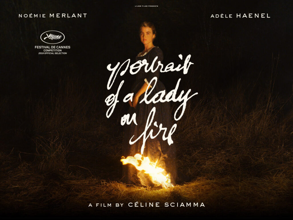 Portrait of a Lady on a Fire Poster | Abbey Arts Centre